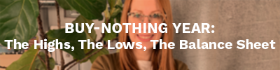 A Buy-Nothing Year: The Highs, The Lows, The Balance Sheet